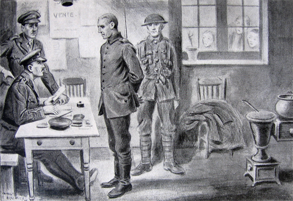 xamination of a German Prisoner