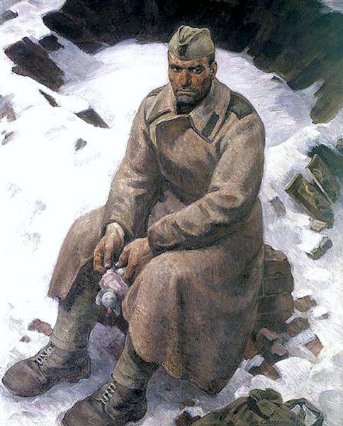 Y. Sirotenko. Soldier