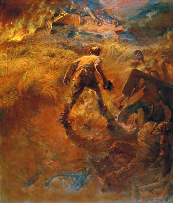 P. Krivonogov. Duel