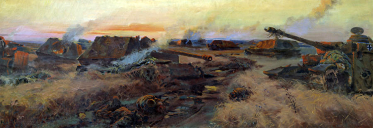 P. Krivonogov. Kursk battle