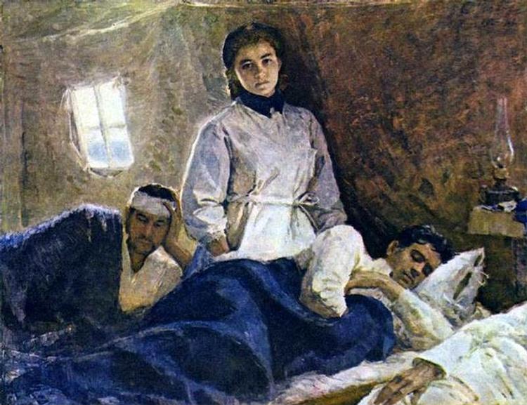 S. Uranova. Nurse Natalia Michaliova
