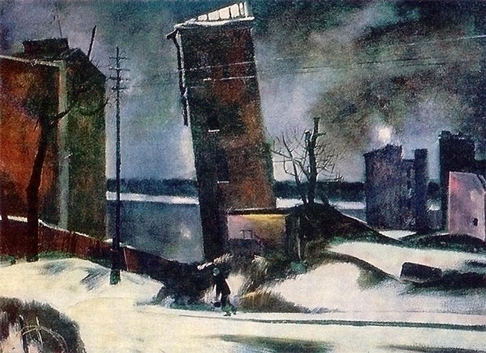 A. Mylnikov. Leningrad, 1941