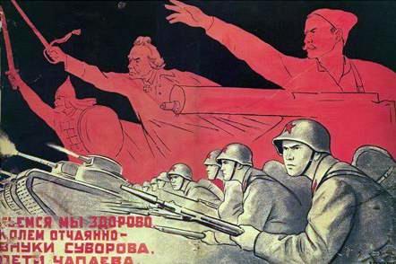 Stalin invocó nombres de zaristas en 1941. ¿Él agió correctamente ? Poster116