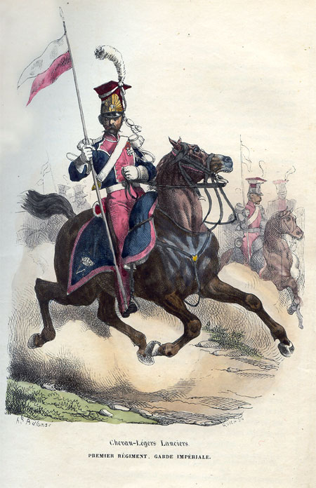 Chevau-Legers Lanciers. Premier Regiment, Garde Imperiale
