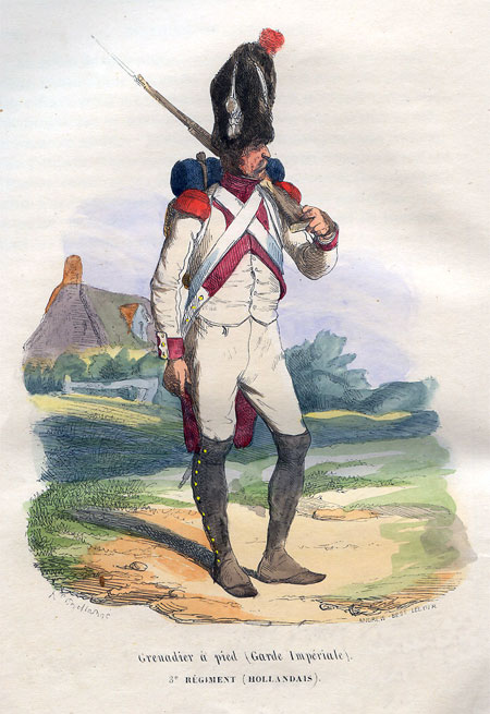 Grenadier a pied (Garde Imperiale). 3 Regiment (Hollandais)