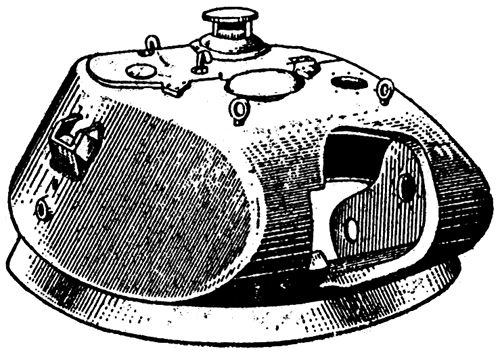 Plate 4 - Turret (front)