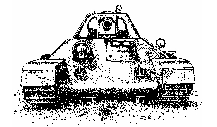 T-34 front view