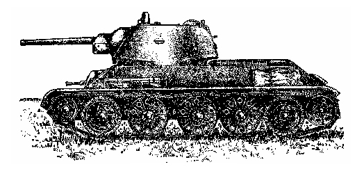 T-34 side view