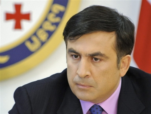 Georgian president Michael Saakashvili declares general mobilization