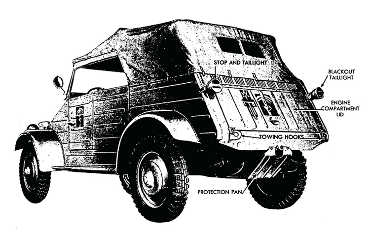 figure 2—volkswagen—left rear view