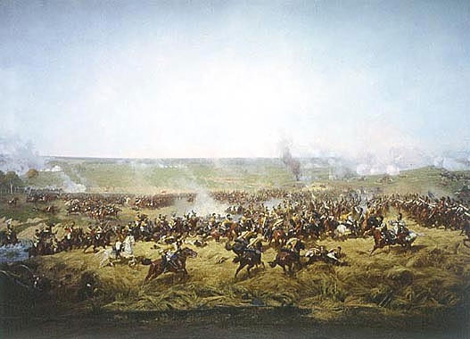 FRAME VII. Cavalry Fight on the Rye Field