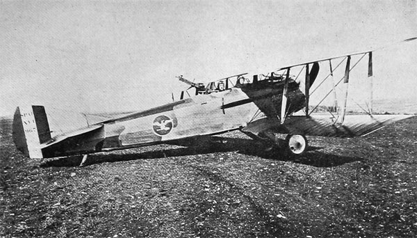 French-Made American Spad at the Front