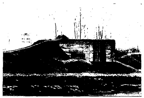 Figure 27.—Double flanking casemate.