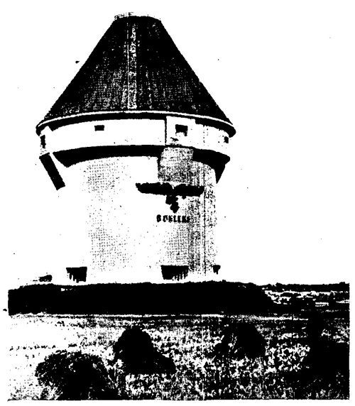Figure 52.—Fortified tower in air defense zone.