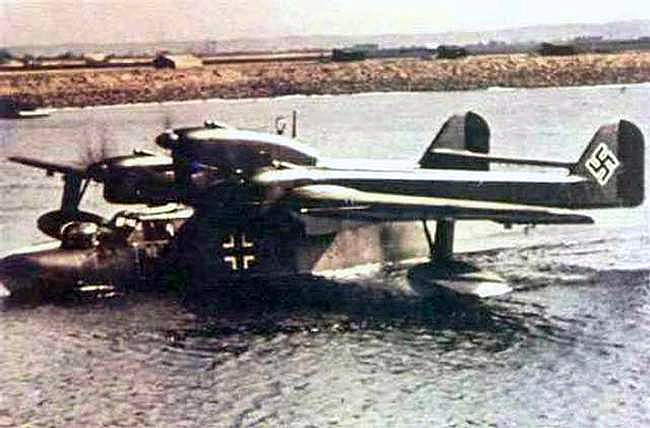 German BV-138 3-engine recconnaisance seaplane