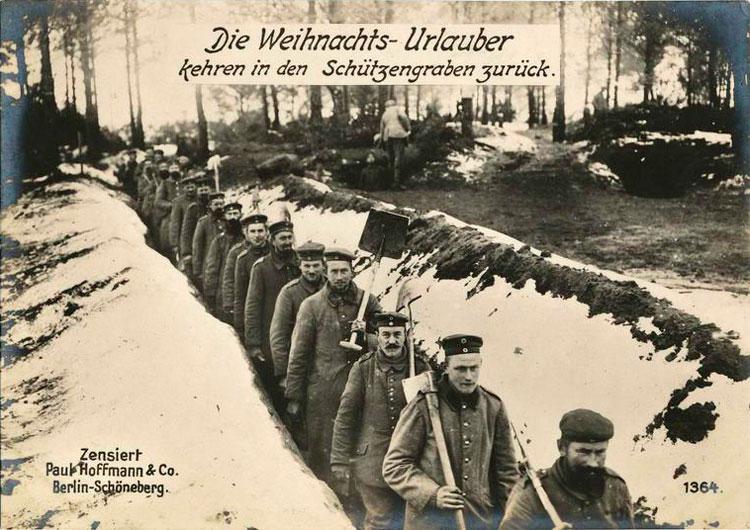 scènes de combat GermanWWIPhotos127