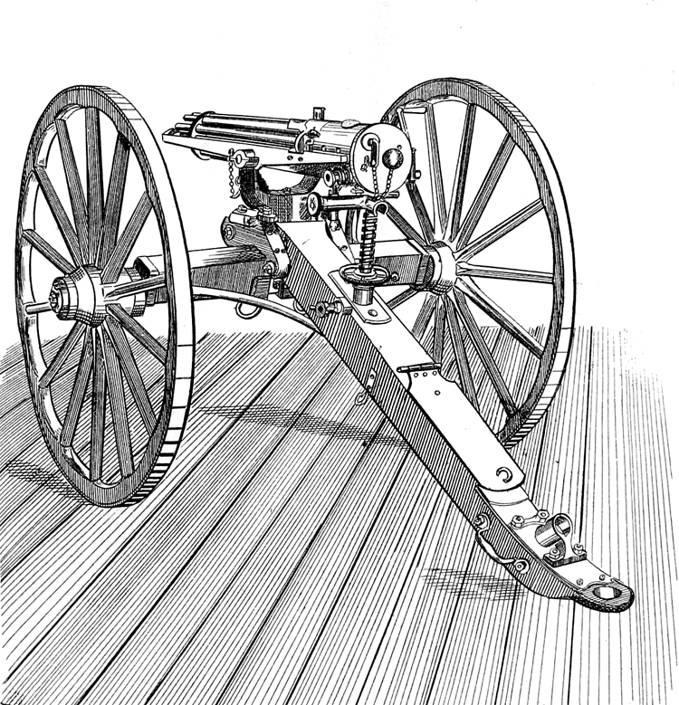 Fig.1. Gatling gun