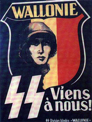 "Come with us. SS Panzer Division ""Wallonie"""
