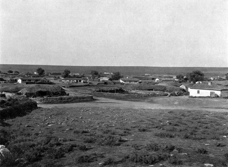 Hadji-Bulat village and heights, where the last stage of the battle took place