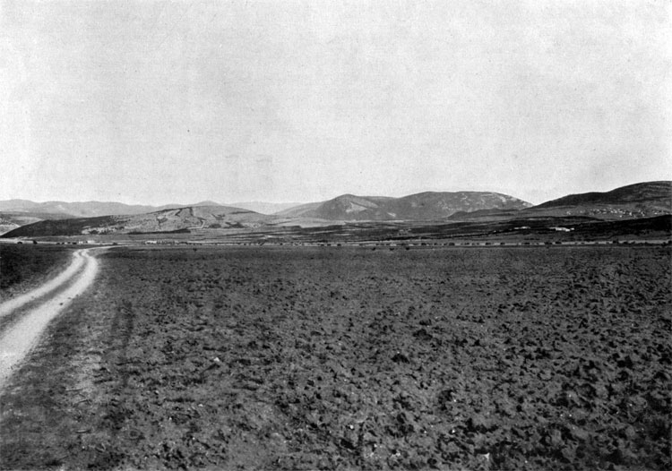 Plain between Fediukhin and Semiakin Heights, where General Cardigan led the charge of the Light Cavalry Brigade