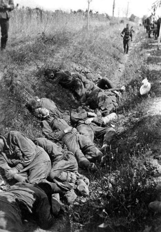 pity of war death on the battlefield