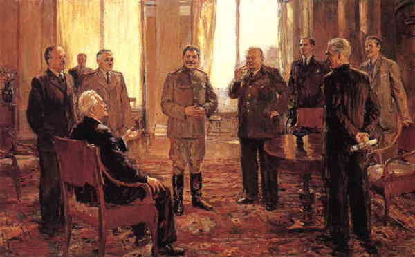 D Nalbandian Yalta Conference 1945 A Different View Of The Yalta