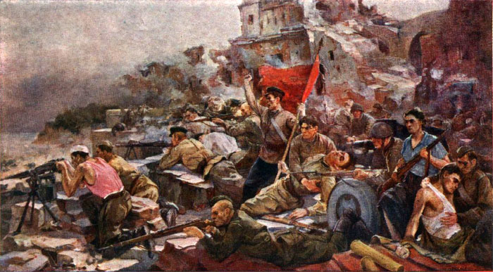 E.Zaitsev. Defense of the Brest Fortress in 1941.