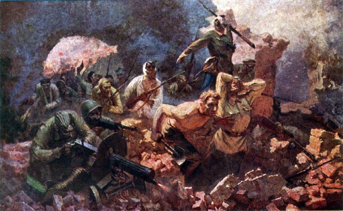 война в картинах: