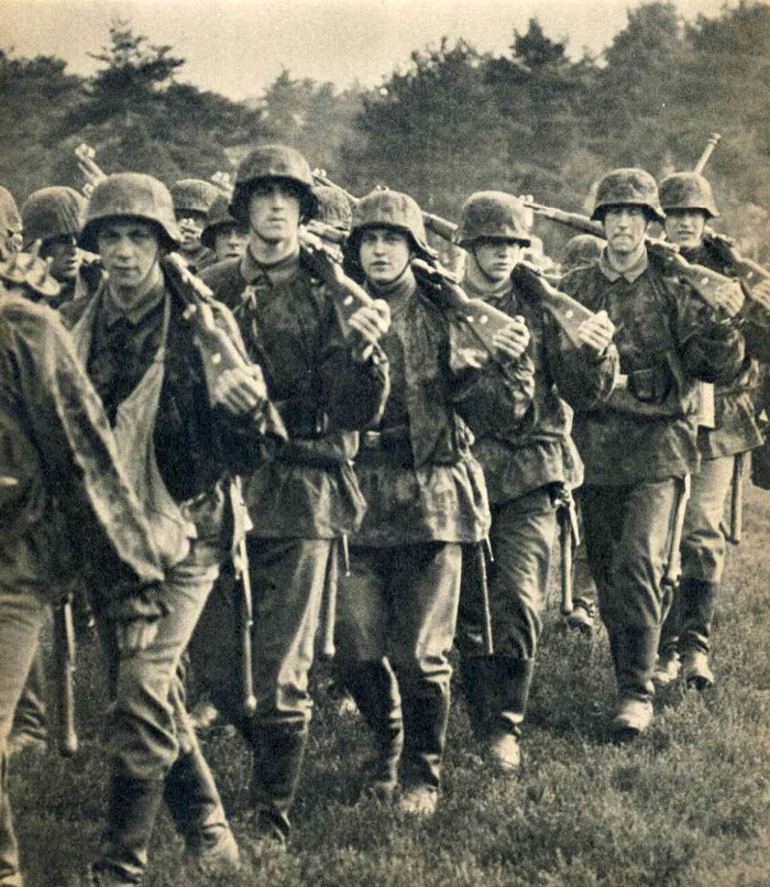 March on position  Waffen Ss March