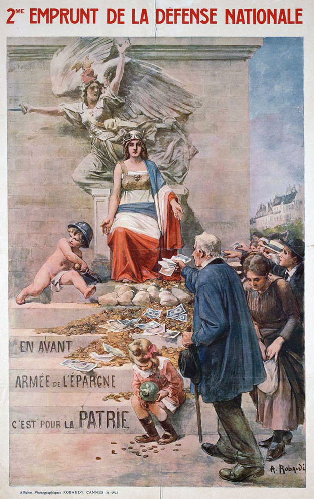 World war i allied propaganda posters for Poster revolution france