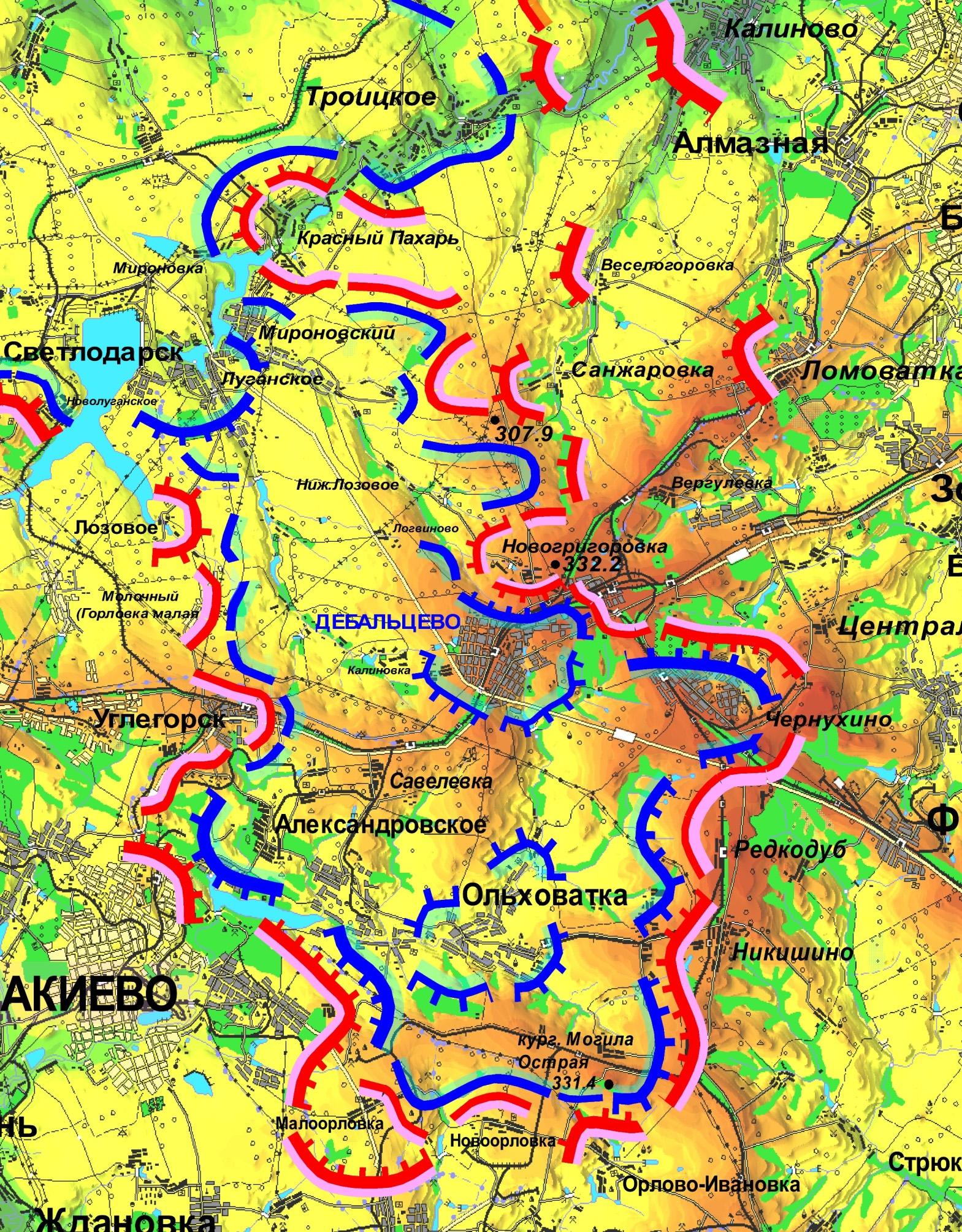 Civil War in Ukraine Infographics