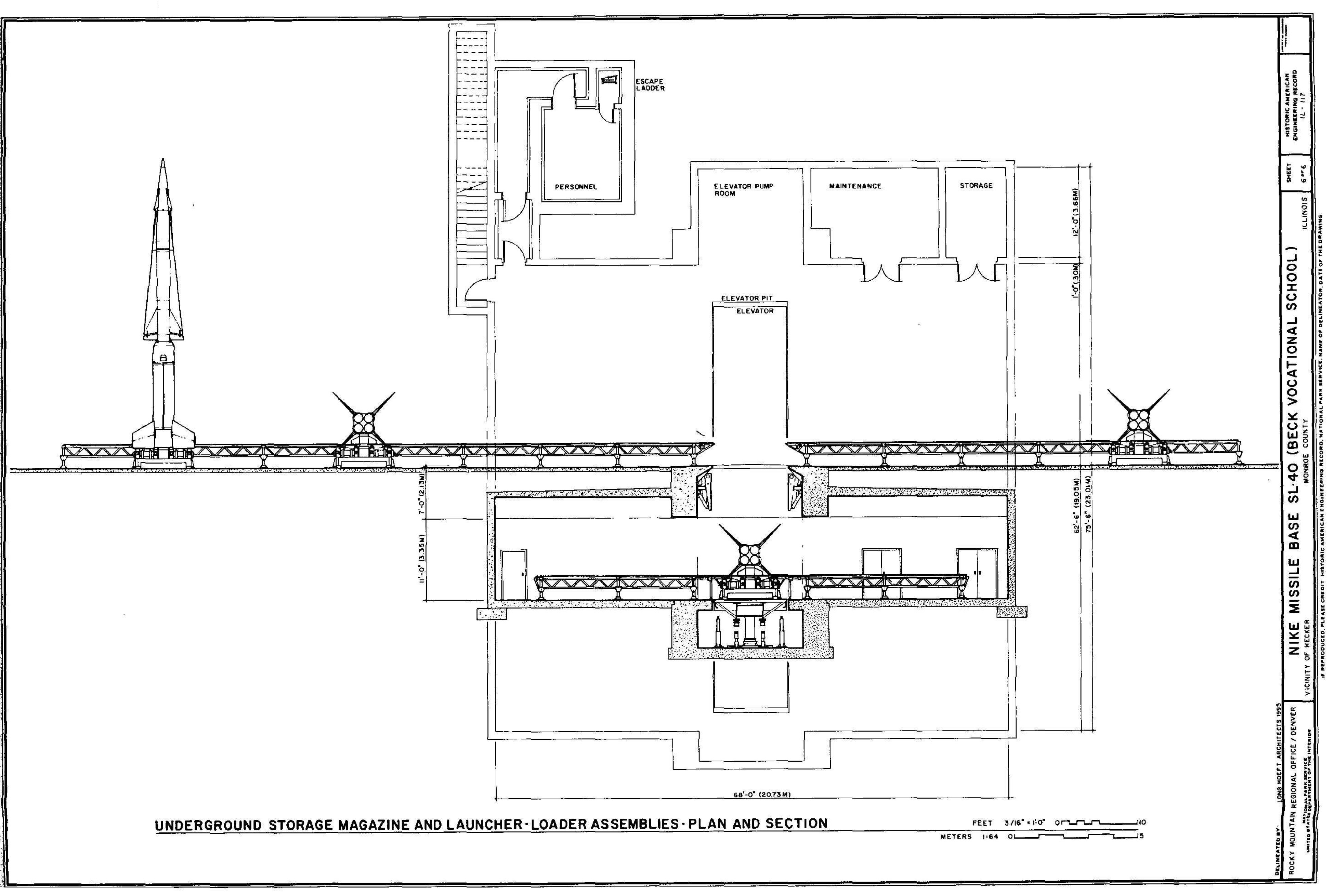 Last Line Of Defense Nike Missile Sites In Illinois Ajax Boiler Wiring Diagram Underground Storage Magazine And Launcher Loader Assemblies