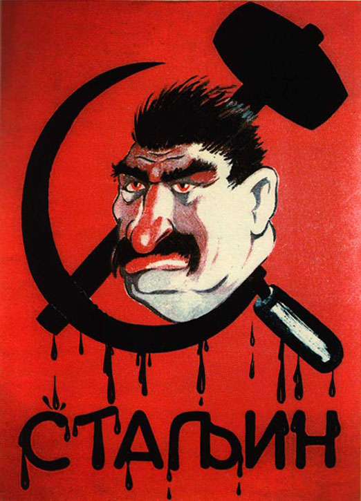 How did hitler and stalin use propaganda