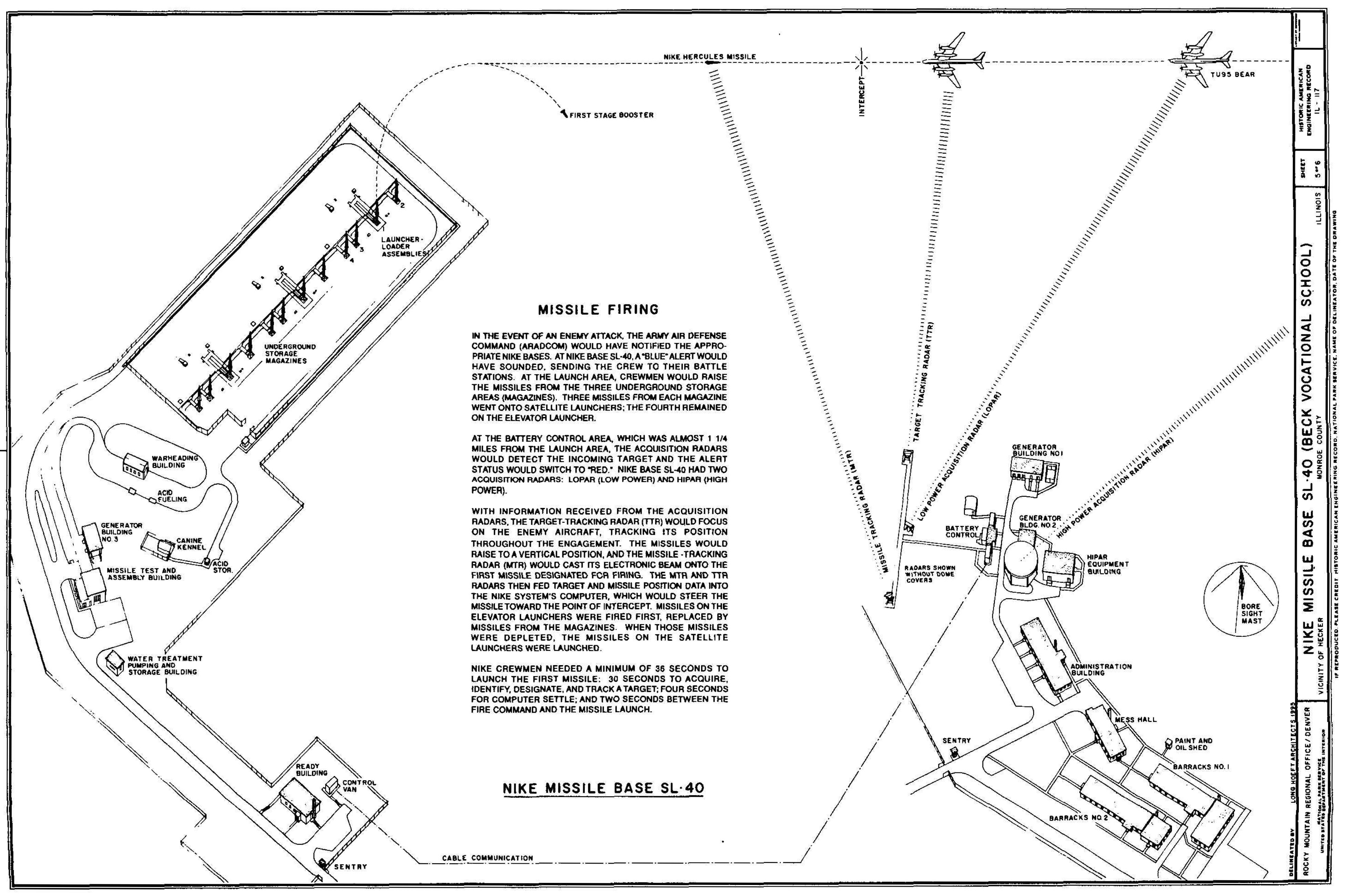Last Line Of Defense Nike Missile Sites In Illinois Wiring Diagram For A 3 Phase Generator Also Barbed Wire Fence Cost Surrounded By Chain Link And Fencing The Kennel Held Training Equipment Leashes Dog Food Grooming Tools Canine Areas Often